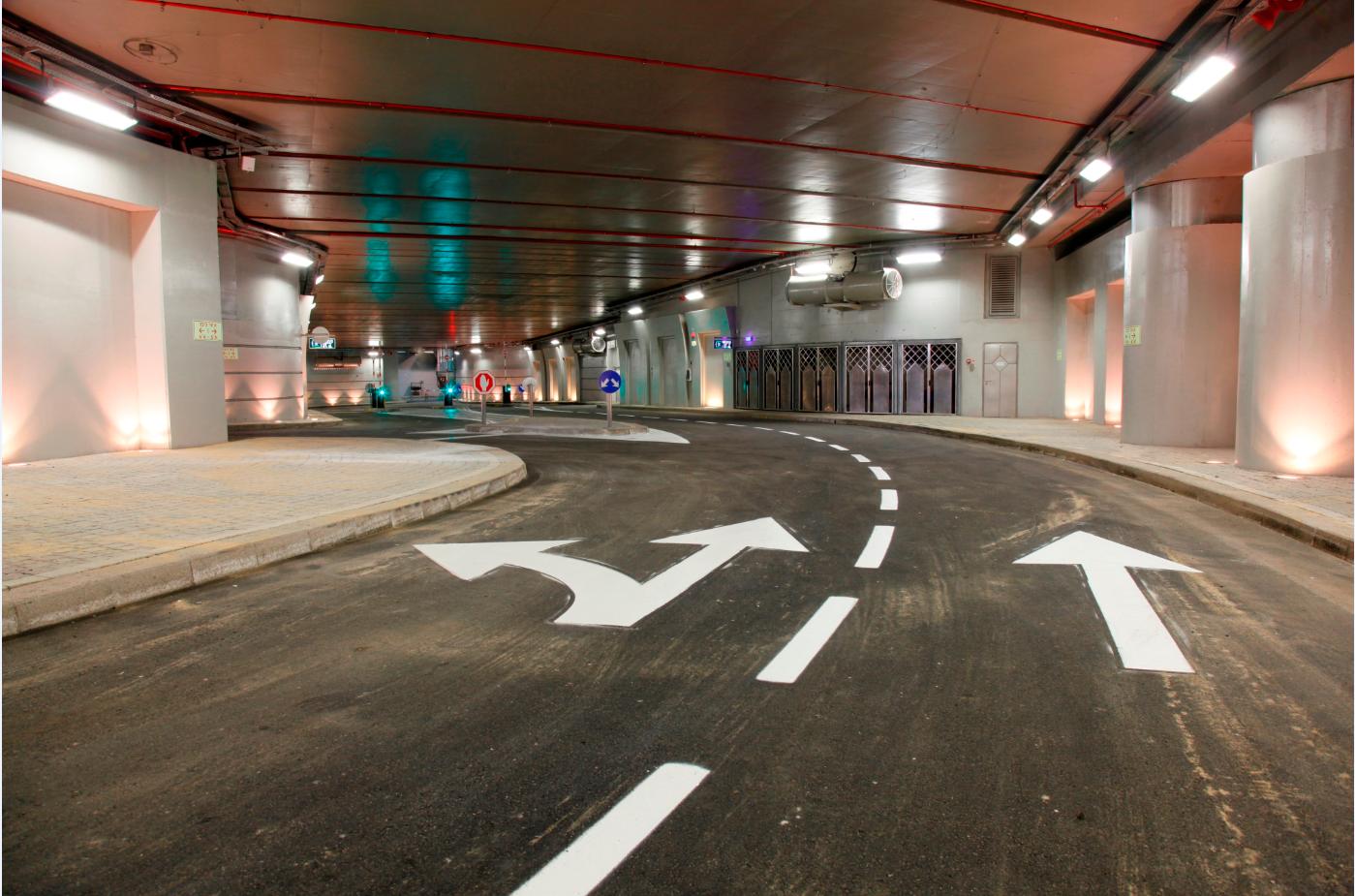 הכביש התת קרקעי, קרדיט: עיריית תל אביב
