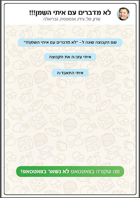 המודעה הזוכה במקום ה-1 מאת דור ברכר