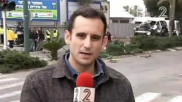 חדשות ערוץ 2 Twitter: משדרים פאניקה? כתב חדשות 2 נזרק מטקס שקיים המשרד לביטחון