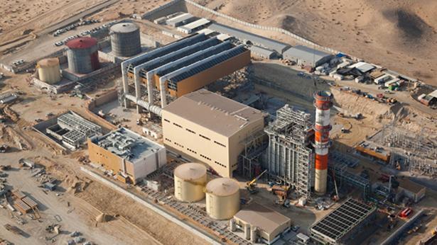 תחנת כוח חברת חשמל, צילום: אלבטרוס צילומי אויר