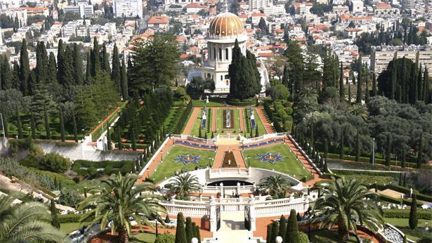 הגנים הבהאיים חיפה, צילום: Gtty images Israel