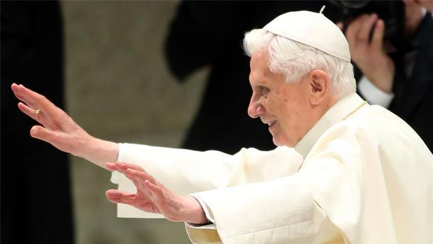 אפיפיור בנדיקטוס ה-16, צילום: Getty images Israel