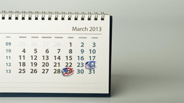 """חודש מארס ישראל ארה""""ב, צילום: Getty images Israel"""