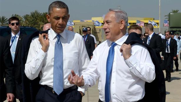 """בנימין ביבי נתניהו ברק אובמה, צילום: אבי אוחיון; לע""""מ"""