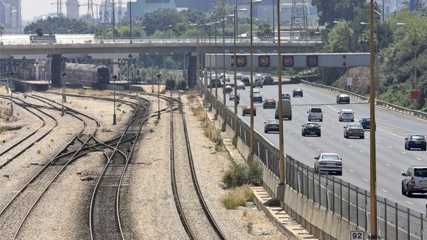 נתיבי איילון רכבת ישראל, צילום: Getty images Israel