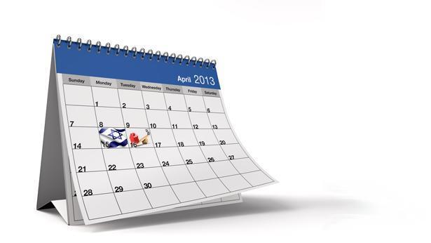 חודש אפריל, צילום: Getty images Israel