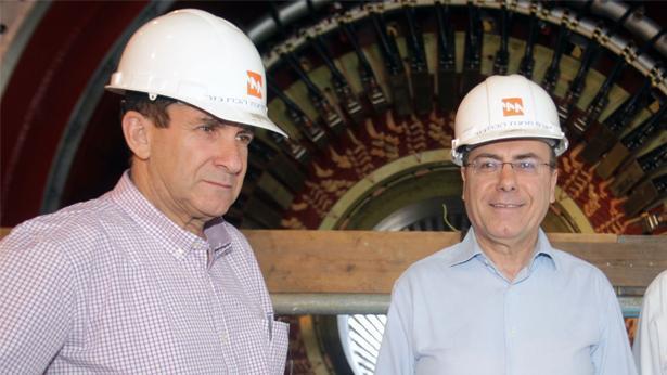 סילבן שלום יפתח רון טל, צילום: יוסי וייס; דוברות חברת החשמל