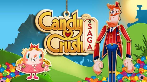 candy crush, צילום מסך