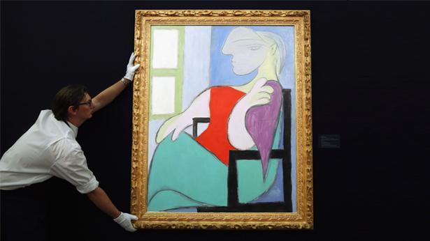 'אישה שישבה ליד חלון' של פיקאסו, צילום: Getty images Israel