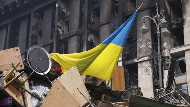 דגל אוקראינה, צילום: Getty images Israel