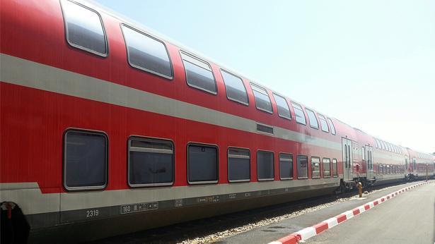 רכבת ישראל עם קרונות חשמליים, צילום: רכבת ישראל