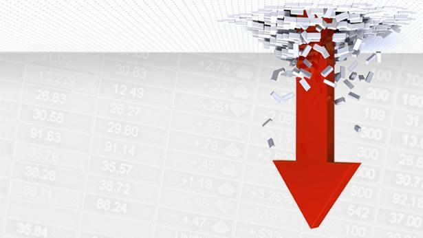 ירידות בשוק ההון