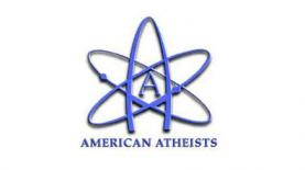 """לוגו אתאיסטים אמריקנים, צילום: יח""""צ"""
