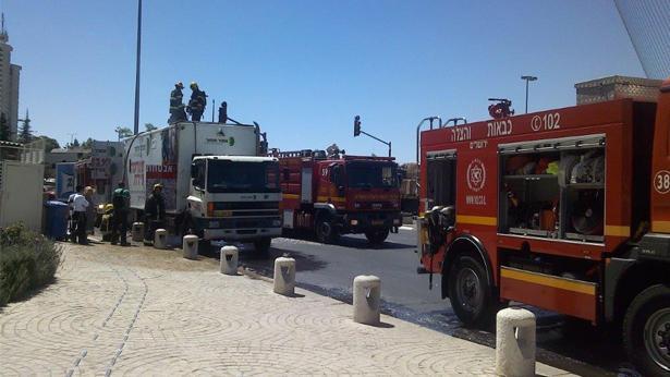 """מכבי אש, צילום: יוסי גוטהולד - סוכנות הידיעות """"חדשות 24"""""""