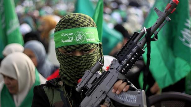 לוחם מתנועת החמאס (Getty images Israel), צילום: Getty images Israel