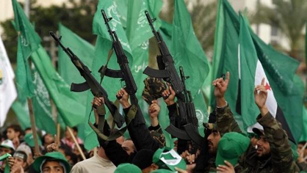 תנועת החמאס, צילום: Getty images Israel