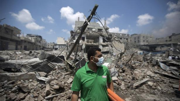 הריסות רצועת עזה, צילום: Getty images Israel