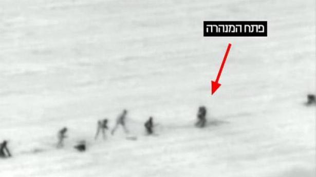 """סיכול ניסיון פיגוע החדירה, צילום: דובר צה""""ל"""