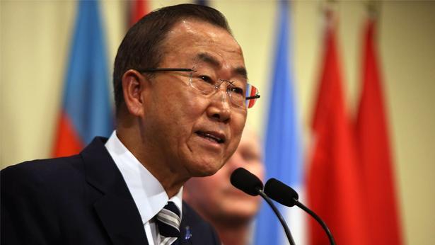 """באן קי מון מזכ""""ל האו""""ם, צילום: Getty images Israel"""