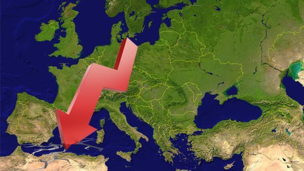 ירידות באירופה, צילום: Getty images Israel