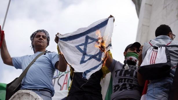 הפגנה אנטי-ישראלית, צילום: Getty images Israel