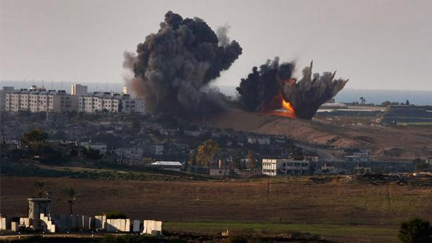 פיצוץ עזה, צילום: Getty images Israel