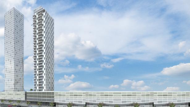 מגדל הים במתחם האקדמיה בבת ים, צילום: גוטמן אסיף אדריכלים