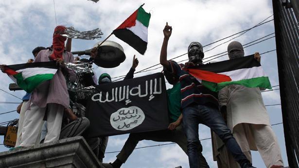 """תומכי דאע""""ש, צילום: Getty images israel"""