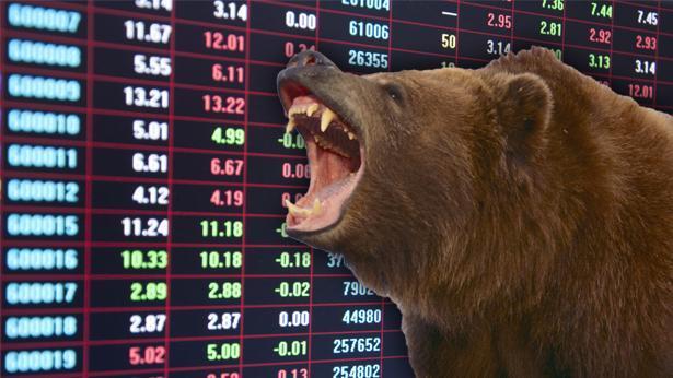 הדובים השתלטו על השוק, צילום: Getty images Israel