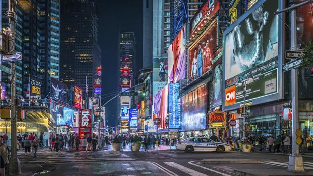 """טיימס סקוור ניו יורק ארה""""ב (Getty images Israel), צילום: Getty images Israel"""