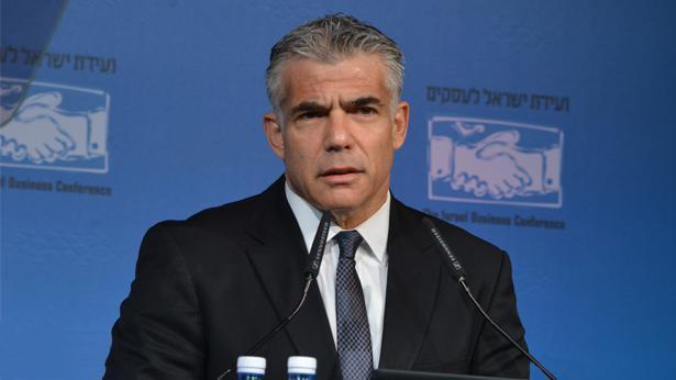 יאיר לפיד, צילום: ועידת ישראל לעסקים; תמר מצפי