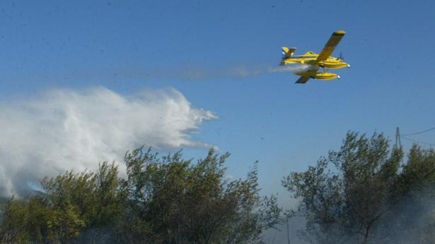 "אלביט מערכות מטוס כיבוי, צילום: יח""צ"