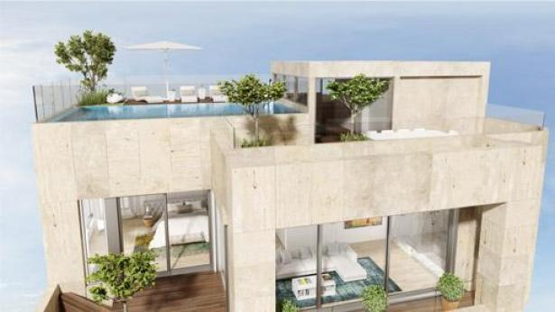 """דירת ענק בהרברט סמואל 48, צילום: יח""""צ"""