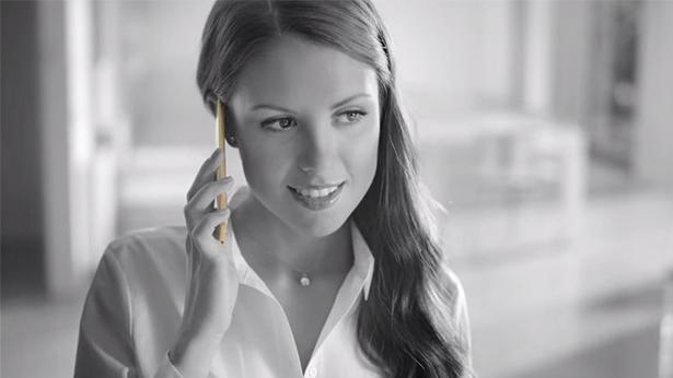 פרסומת אישה, צילום מסך