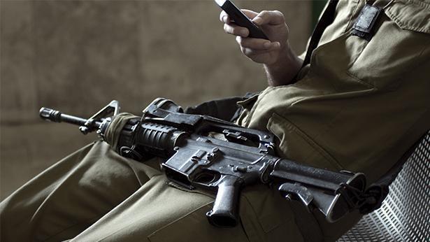 סלולרי צבאי, צילום: Getty images Israel