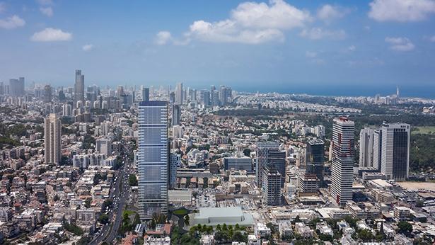 """מגדל הכשרת היישוב של קבוצת סופרין וחברת פנדום, צילום: יח""""צ"""