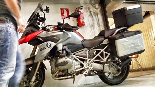 אופנוע BMW, צילום: לילך צור