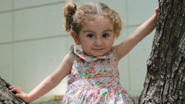 הילדה ניאז מסרטה של אילנה דרוקר 'חור בלב', צילום: ערוץ 1