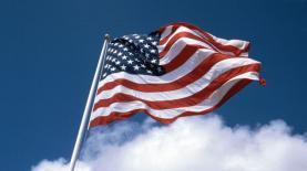 """דגל ארה""""ב, צילום: Frank Brueck"""