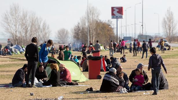 פליטים באירופה, צילום: Getty images Israel