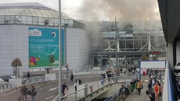 פיגוע בבריסל, צילום: Twitter