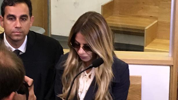 ענבל אור בבית המשפט, צילום: ענת דניאלי