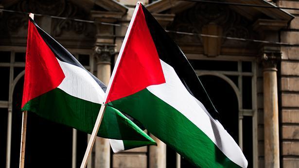 דגל הרשות הפלסטינית, צילום: גטי אימג'ס ישראל