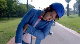 """""""משיח"""" בקמפיין החדש של סלקום TV לערוצי הספורט של 'ספורט 5', צילום מסך"""