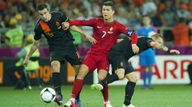רונאלדו ונבחרת פורטוגל בטורניר היורו הקודם, צילום: Getty images Israel