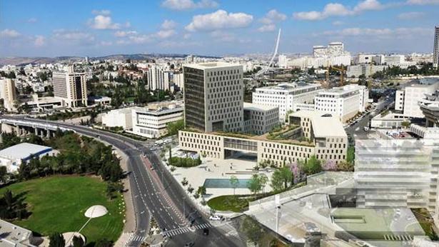 פרויקט משרד המשפטים, צילום: אפריקה ישראל נכסים ודניה סיבוס