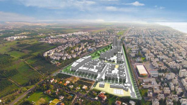 הדמיית השכונה החדשה בנהריה, צילום: יער קורין