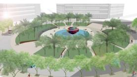 הדמיה, כיכר דיזנגוף, צילום: מוריה סקלי אדריכלות נוף