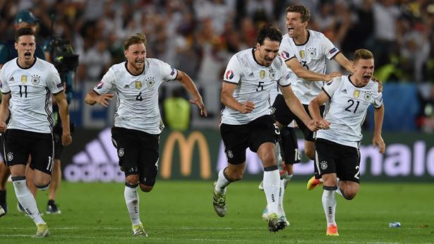 נבחרת גרמניה, רבע גמר יורו 2016, צילום: גטי אימג'ס ישראל