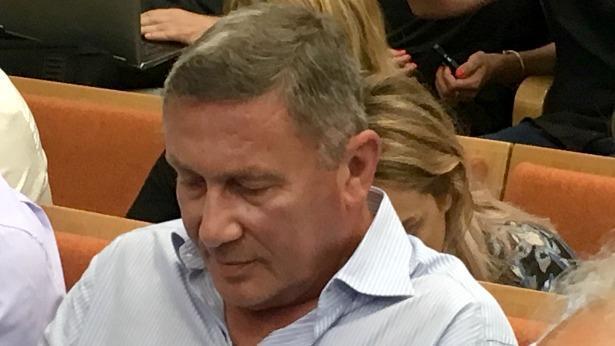 נוחי דנקנר היום בהכרעת הדין במשפטו, צילום: ענת דניאלי